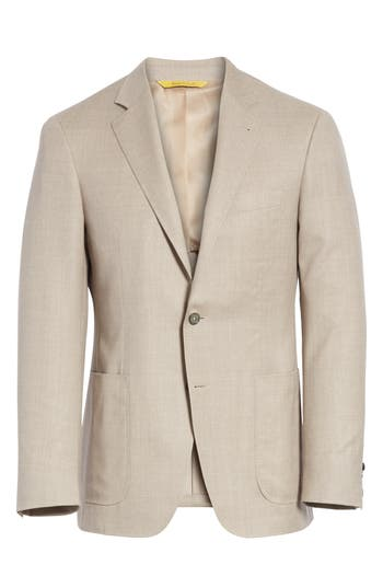 Men's Canali Classic Fit Wool Sport Coat