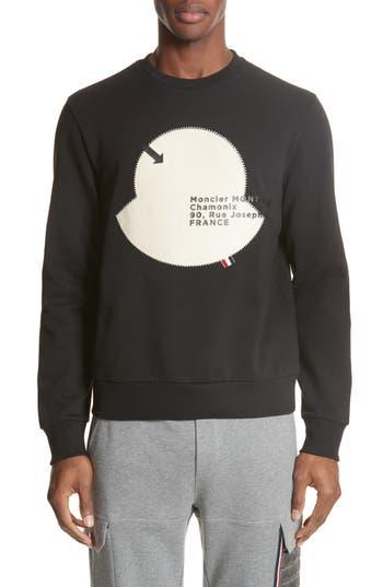 Moncler Maglia Big Bell Crewneck Sweatshirt
