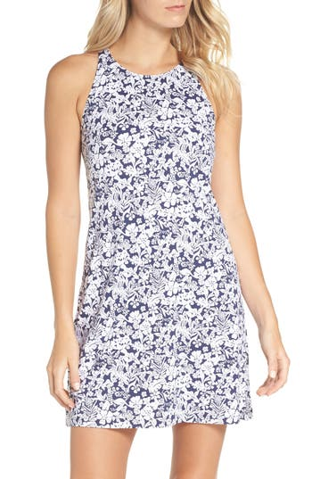 Tommy Bahama Riviera Tiles Cover-Up Dress, Blue