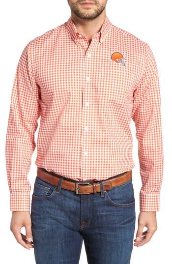 Cutter & Buck League Cleveland Browns Regular Fit Shirt