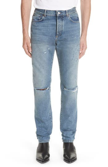 Givenchy Destroyed Jeans