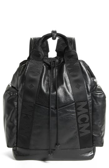 MCM Stadt Leather Backpack
