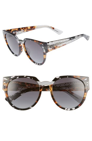 Dior Lady Dior 54mm Special Fit Polarized Cat Eye Sunglasses