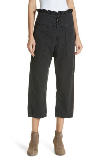 THE GREAT RUFFLE ARMIES HIGH RISE PANTS