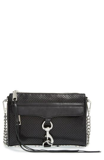 Rebecca Minkoff Mini MAC Convertible Crossbody Bag - Metallic