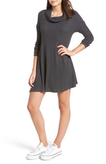 BP. Rib Knit Cowl Neck Dress