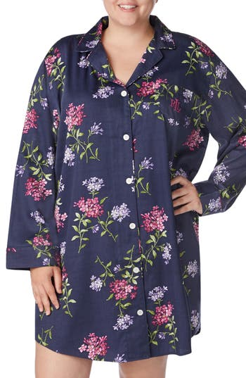 Lauren Ralph Lauren Floral Print Sleep Shirt