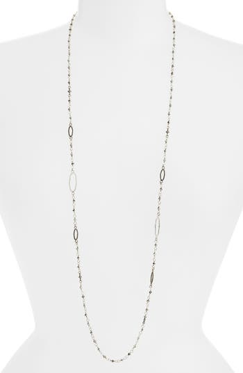 ARMENTA NEW WORLD LONG STATION NECKLACE