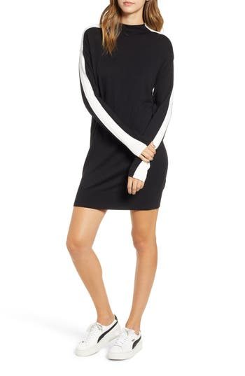 BP. Sport Stripe Sweater Dress