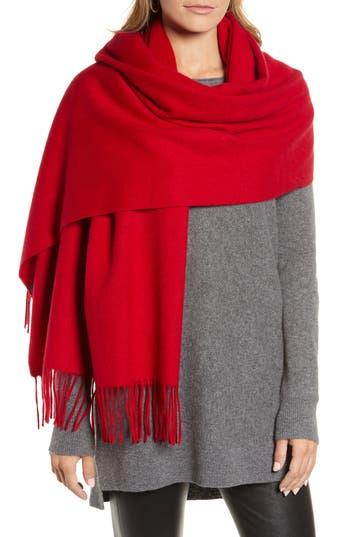 Halogen® Solid Cashmere Wrap Scarf