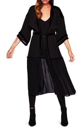 New Friends Colony Black Widow Fabric Kimono