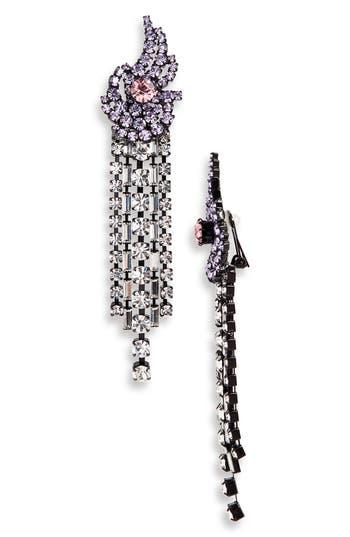 Ashley Williams Away Fall Crystal Earrings