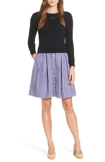 1901 Sweater Poplin Dress