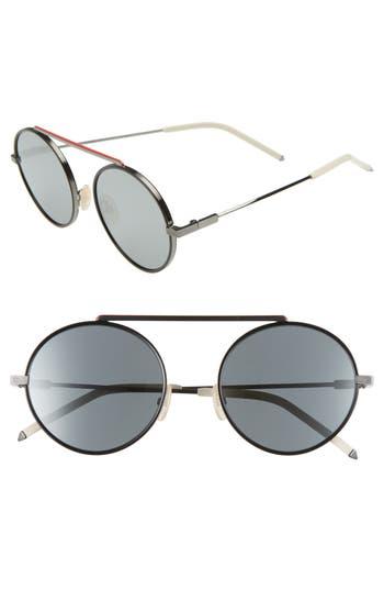 Fendi 54mm Round Sunglasses