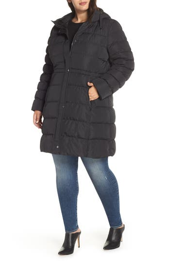 Marc New York Jersey Hooded Parka