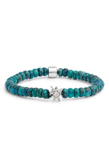 Anzie Boheme Starburst Chrysocolla Bead Bracelet