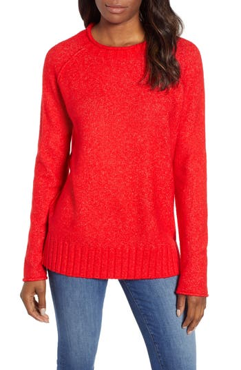 Caslon® Cozy Crewneck Sweater