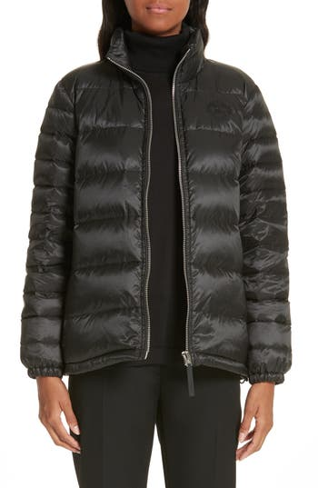 Burberry Smethwick Archive Logo Quilted Down Puffer Coat
