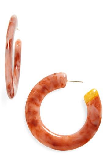 Cult Gaia Mira Small Flat Hoop Earrings