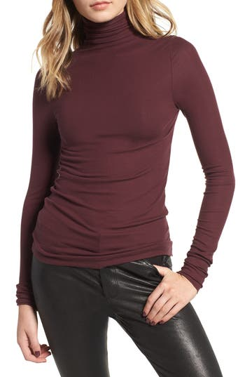 AG Chels Ribbed Turtleneck Sweater
