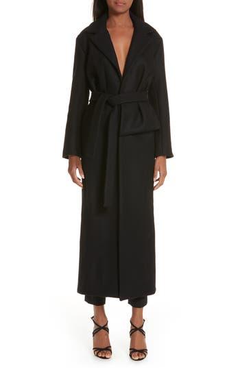 Jacquemus Le Manteau Aissa Belted Wool Blend Coat
