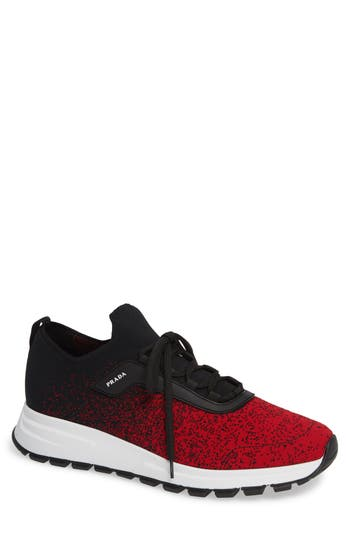 Prada Knit Sneaker