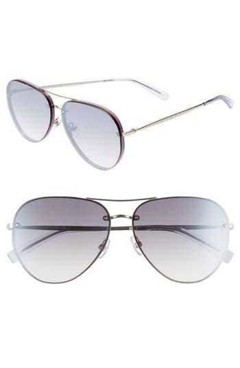 Rebecca Minkoff Gloria2 59mm Aviator Sunglasses