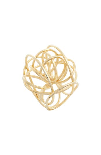 The Accessory Junkie Rachana Large Dome Structure Ring
