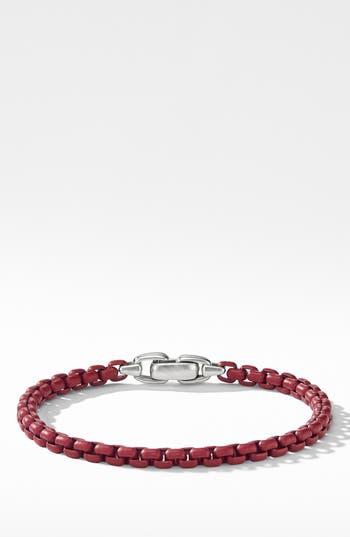 David Yurman Box Chain Bracelet