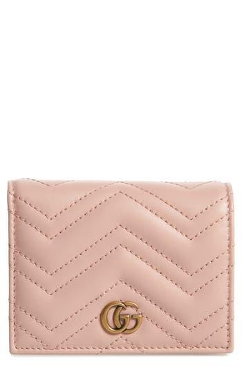 Gucci GG Marmont 2.0 Matelassé Leather Card Case