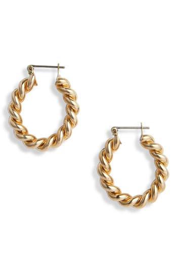 Laura Lombardi Cara Hoop Earrings