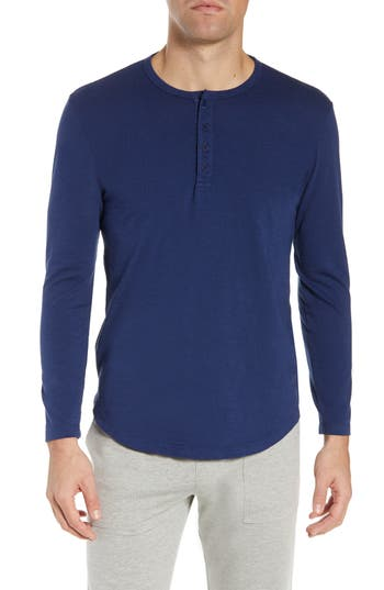 Goodlife Scallop Hem Henley Shirt
