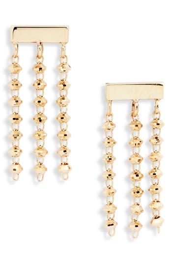 Poppy Finch Shimmer Baby Tassel Earrings