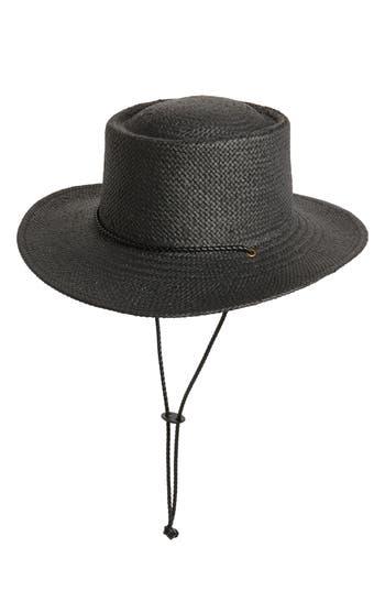 Treasure & Bond Woven Boater Hat