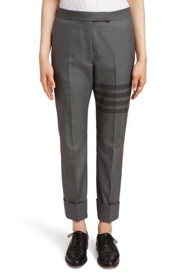 Thom Browne 4-Bar Slim Trousers