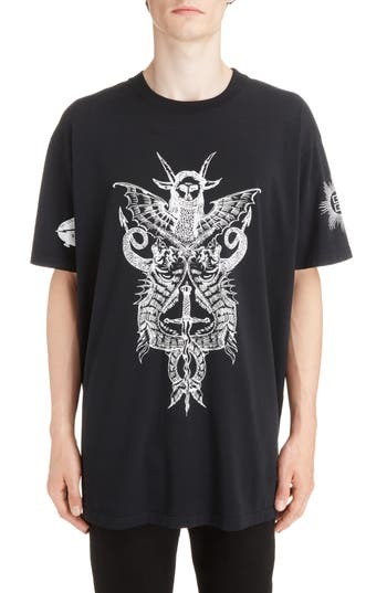 Givenchy Monster Tour Graphic T-Shirt