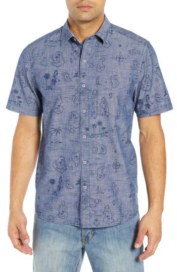 Tommy Bahama Tahiti Treasure Classic Fit Sport Shirt