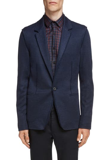 Lanvin Cotton & Silk Jersey Jacket