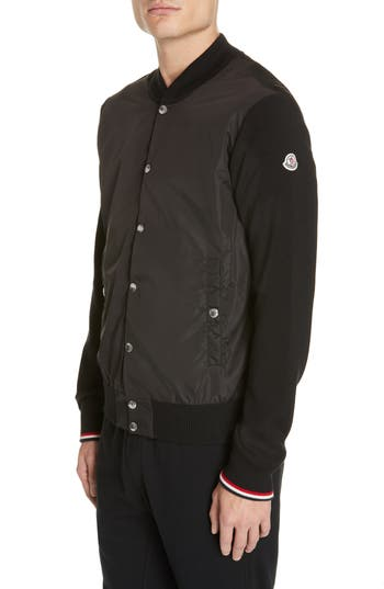 Moncler Maglione Double Fabric Jacket
