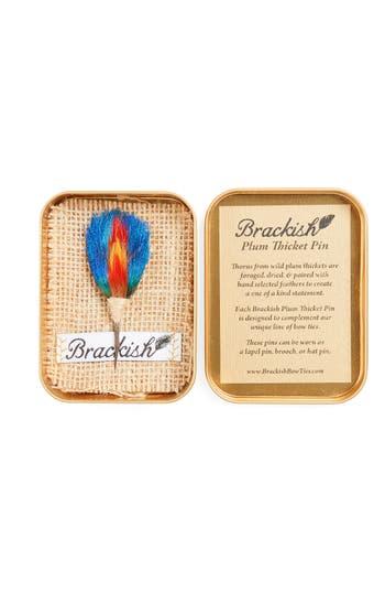 Brackish & Bell Saker Lapel Pin