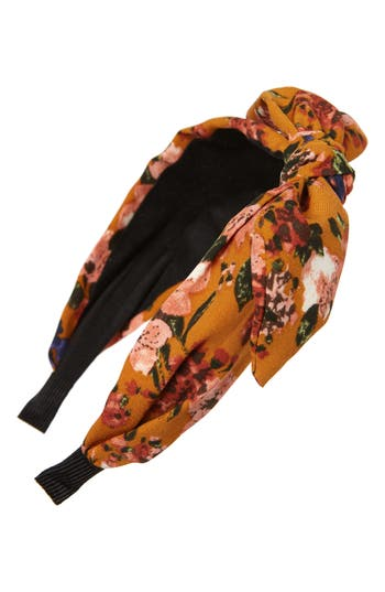 Cara Floral Bow Headband