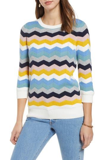 1901 Chevron Jacquard Sweater