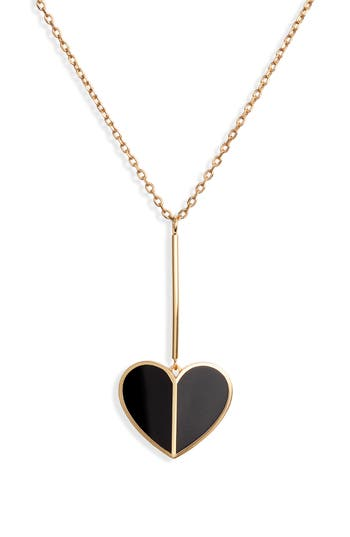 kate spade new york linear pendant necklace