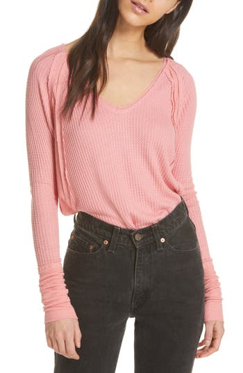 We the Free by Free People Catalina V-Neck Thermal Top