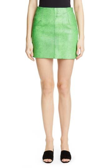 Simon Miller Willow Leather Miniskirt