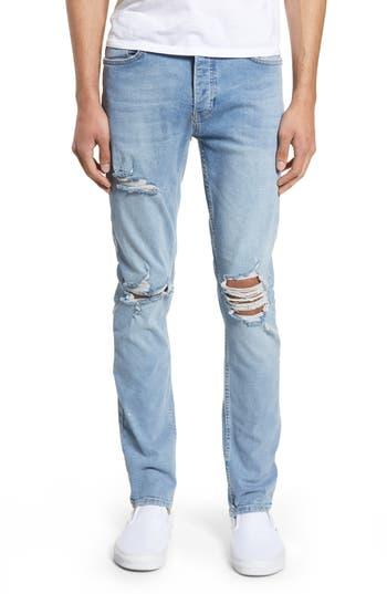 Topman Stretch Skinny Fit Jeans