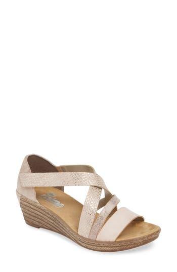 Rieker Antistress Fanni Wedge Sandal (Women)