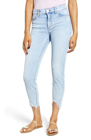STS Blue Ellie Chewed Hem Ankle Skinny Jeans (Boswood)