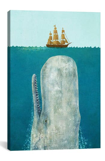 Icanvas 'The Whale - Terry Fan' Giclee Print Canvas Art