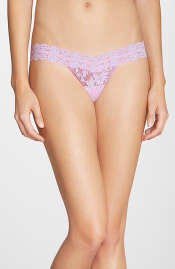Women's Hanky Panky Low Rise Cross Dye Thong